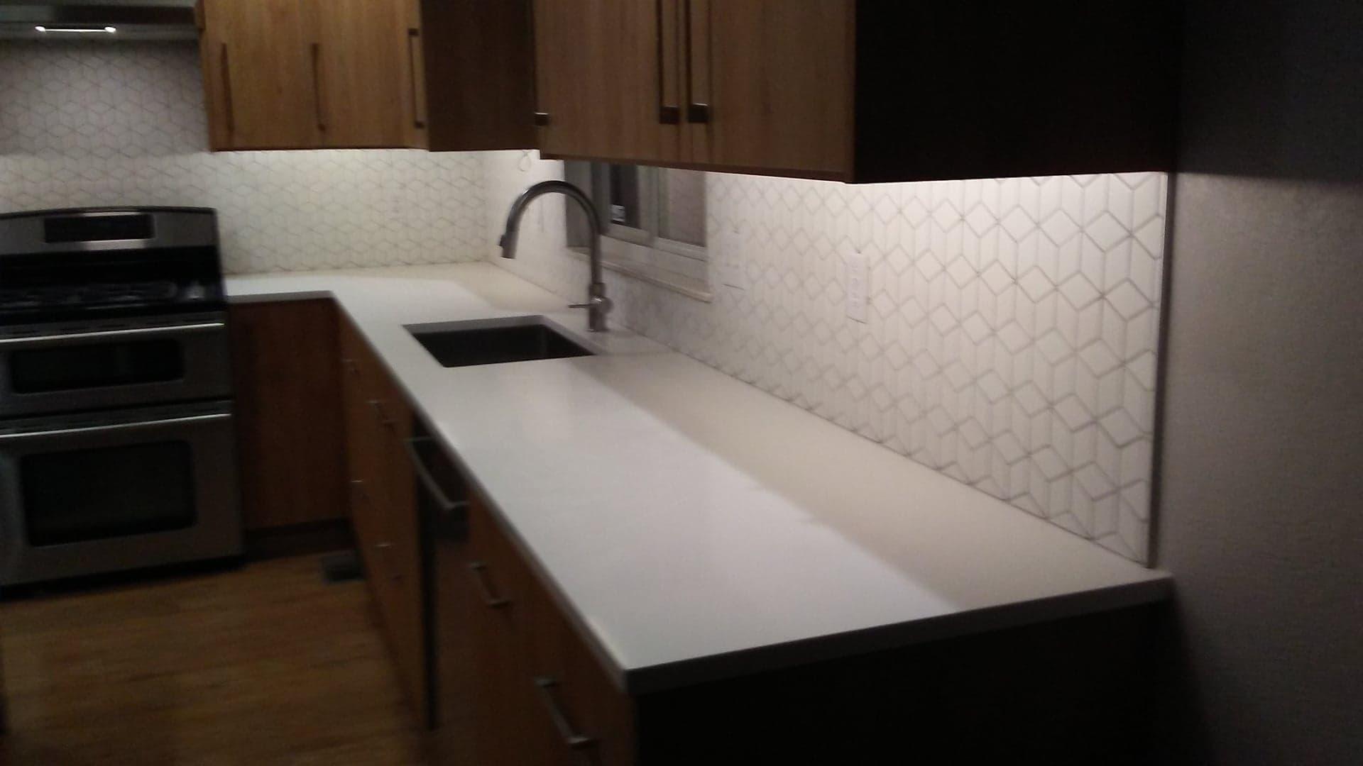 - Professional Tile Installation, Kitchen Backsplash, Tile Floors